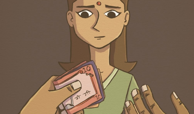 DOLL: a graphic novel to raise awareness about sex trafficking