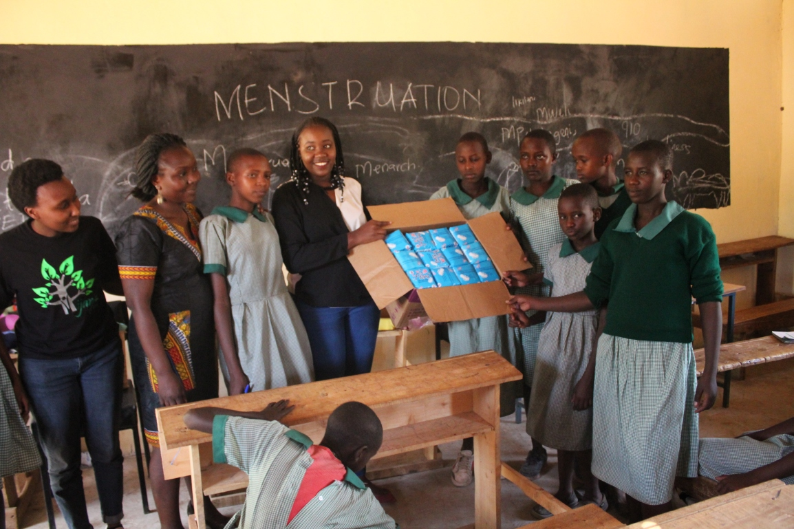 Fighting Period Poverty to Keep Kenyan Girls in School