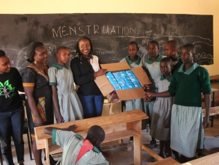 Fighting Period Poverty to Keep Kenyan Girls inSchool